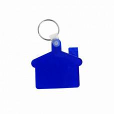 Брелок-домик пластиковий ц-т синий синий