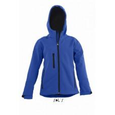 Куртка дитяча софтшелл SOL'S REPLAY KIDS яскраво-синій