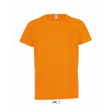 Детская футболка SOL'S SPORTY KIDS неон оранжевый