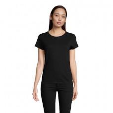 ЖІноча футболка SOL'S PIONEER WOMEN чорний-насичений
