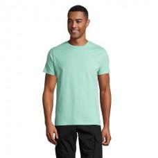 Чоловіча облягає футболка з круглою горловиною SOL'S MARVIN ментоловий