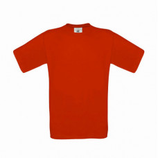 Футболка с коротким рукавом красный