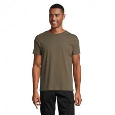 Чоловіча футболка з круглою горловиною SOL'S MARVIN армійська