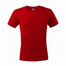 Футболка с коротким рукавом T-shirt 180g красный