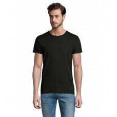 Чоловіча футболка SOL'S PIONEER MEN чорний-насичений