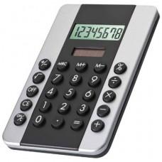Калькулятор из пластмассы черный