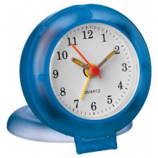 Настольные часы с будильником синий