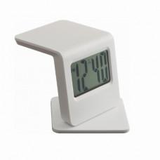 Годинник настільний білий