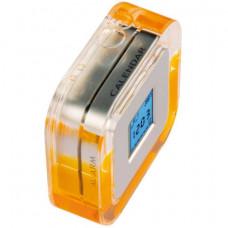 Настольные многофункциональные часы оранжевый