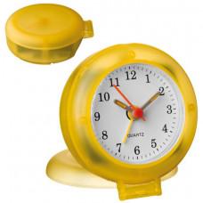 Годинник настінний жовтий