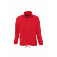 Куртка флисовая SOL'S NORTH красный