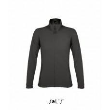Куртка жіноча з мікрофлісу SOL'S NOVA WOMEN антрацит