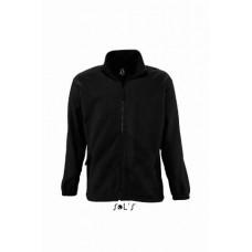 Куртка флісова SOL'S NORTH чорний