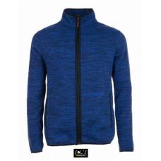 Куртка унісекс з флісу SOL'S TURBO синій-насичений/темно-синій