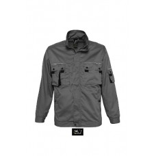Робоча куртка SOL'S VITAL PRO темно-сірий