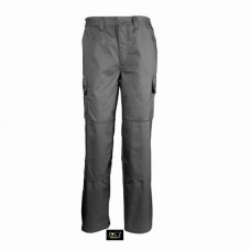 Робочі штани SOL'S ACTIVE PRO темно-сірий