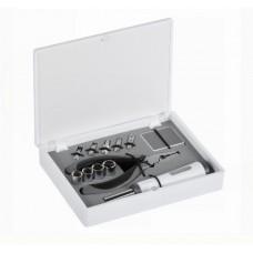 Набір інструментів 12 в 1 Bergamo Mini Set сірий