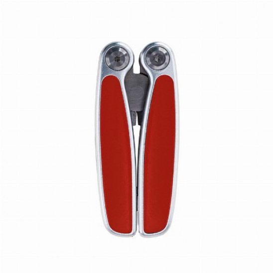 Мультиінструмент 11 функцій Bergamo SOLID червоний
