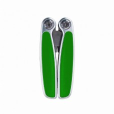 Мультиінструмент 11 функцій Bergamo SOLID зелений