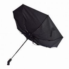 """Зонт складной, автоматический LIGHT от ТМ """"LINE ART"""", с подсветкой черный"""