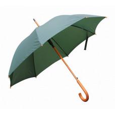 Зонт-трость полуавтомат Bergamo TOPRAIN темно-зеленый