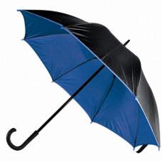 Парасоля-тростина Bergamo BLOOM, напівавтоматичний темно-синій