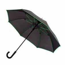 Парасоля-тростина Bergamo LINE чорний/зелений