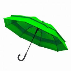 Велика парасоля-тростина напівавтомат FAMILY зелений