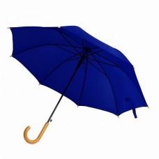 Парасоля-тростина  BERGAMO PROMO, напівавтоматична темно-синій