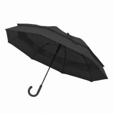 Велика парасоля-тростина напівавтомат FAMILY чорний
