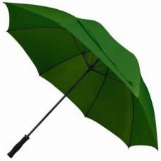 Міцний і велику парасольку темно-зелений