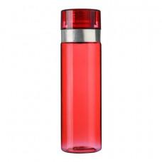 Спортивна пляшка для води, 850 мл червоний