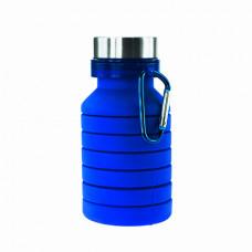 Бутылка для воды Bergamo PAGODA, силиконовая, 550 мл синий