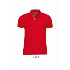 Мужская рубашка поло SOL'S PATRIOT красный