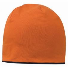 Шапка двухсторонняя оранжевый/черный