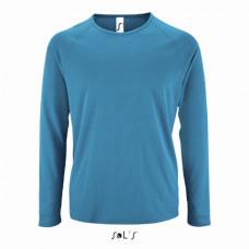 Чоловіча спортивна футболка з довгим рукавом SPORTY LSL MEN морський