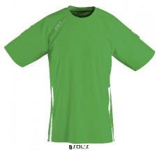 Футболка SOL'S WEMBLEY SSL зелений/білий