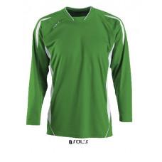 Футболка SOL'S MARACANA LSL зелений/білий