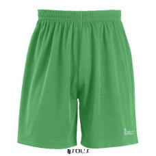 Шорты тренировочные SOL'S SAN SIRO KIDS ярко-зеленый