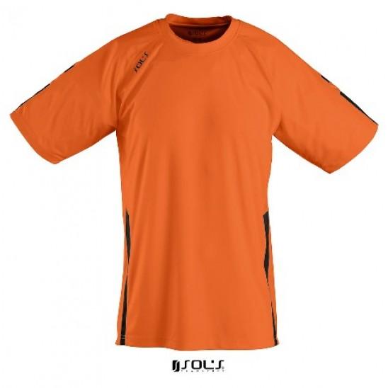 Футболка дет. SOL'S WEMBLEY KIDS SSL оранжевый/черный