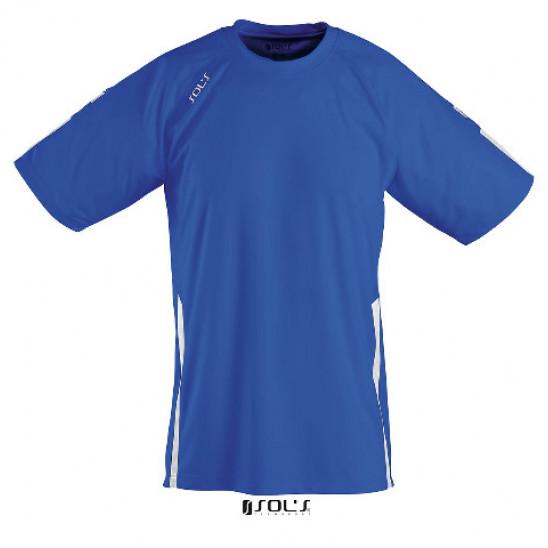Футболка SOL'S WEMBLEY SSL ярко-синий/белый