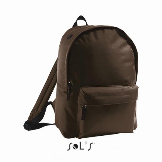 Рюкзак из полиэстера 600d SOL'S RIDER шоколадный