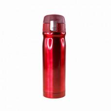 Термокухоль Bergamo UNO, вакуумна, сталева, 500 мл червоний