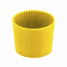 Силіконове кільце термостакана Bergamo Gracia жовтий