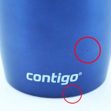 Термокухоль Contigo West Loop, вакуумна, сталева, 470 мл синій
