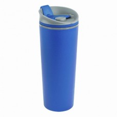 Термокружка Bergamo Positano, пластиковая, 500 мл синий