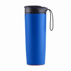 Термокухоль LINE ART Smart, пластикова, 540 мл синій