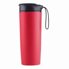 Термокружка LINE ART Smart, пластиковая, 540 мл красный