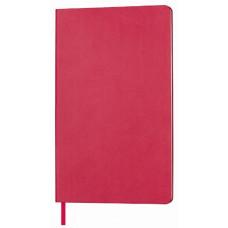 Блокнот AUDREY A5, 130х210 мм, м'яка обкладинка, в лінію, 128 сторінок червоний