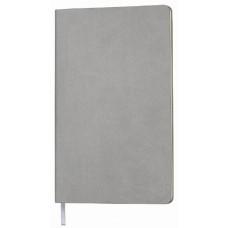 Блокнот AUDREY A5, 130х210 мм, мягкая обложка, в линию, 128 страниц серый